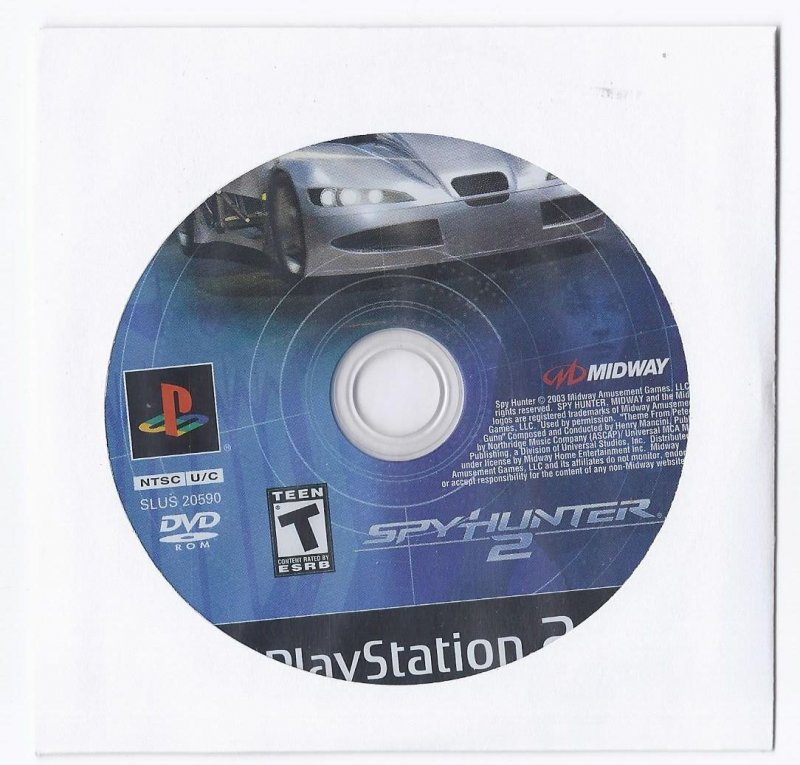 Image 0 of Spyhunter 2 PS2 Game PlayStation 2