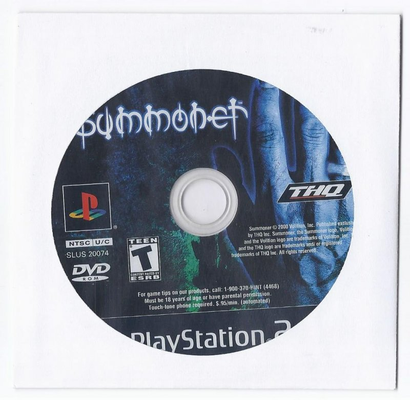 Image 0 of Summoner PS2 Game PlayStation 2