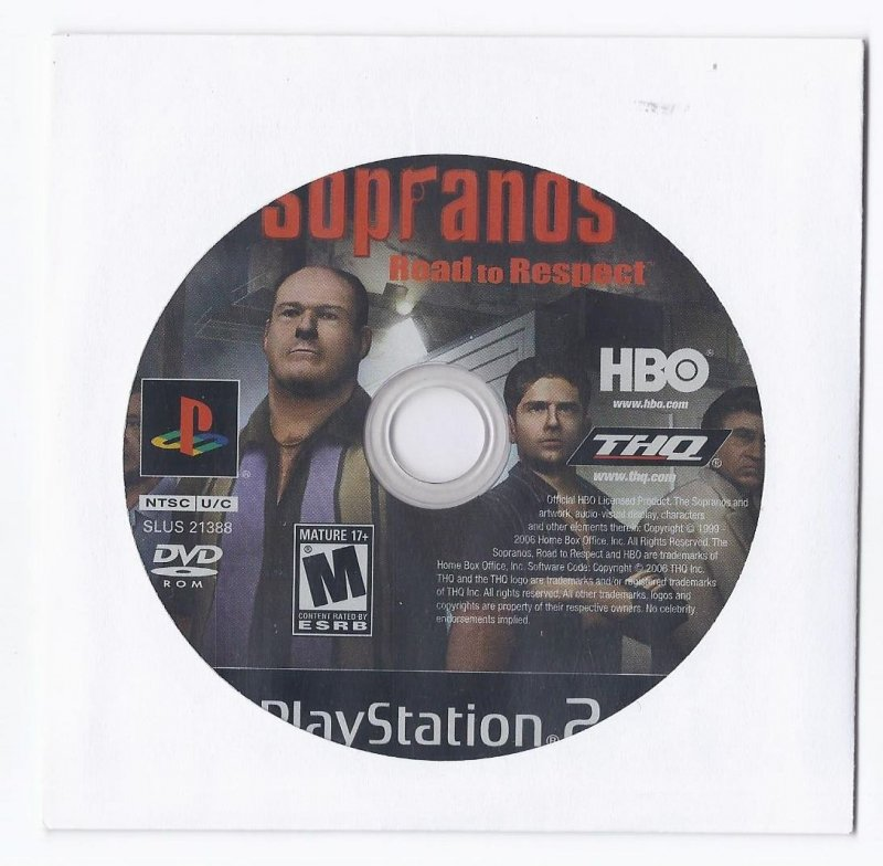 Image 0 of Sopranos Road to Respect PS2 Game PlayStation 2