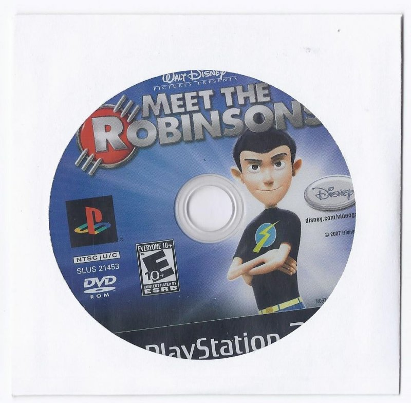 Image 0 of Meet the Robinsons PS2 Game PlayStation 2