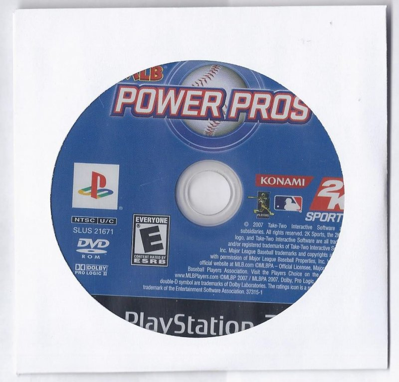 Image 0 of MLB Power Pros PS2 Game PlayStation 2