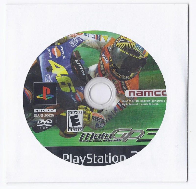 Image 0 of Moto GP 3 PS2 Game PlayStation 2