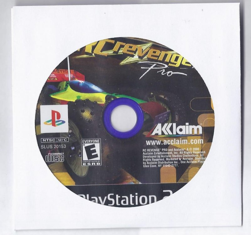 Image 0 of RC Revenge Pro PS2 Game PlayStation 2