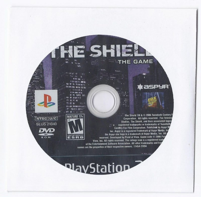 Image 0 of The Shield PS2 Game PlayStation 2
