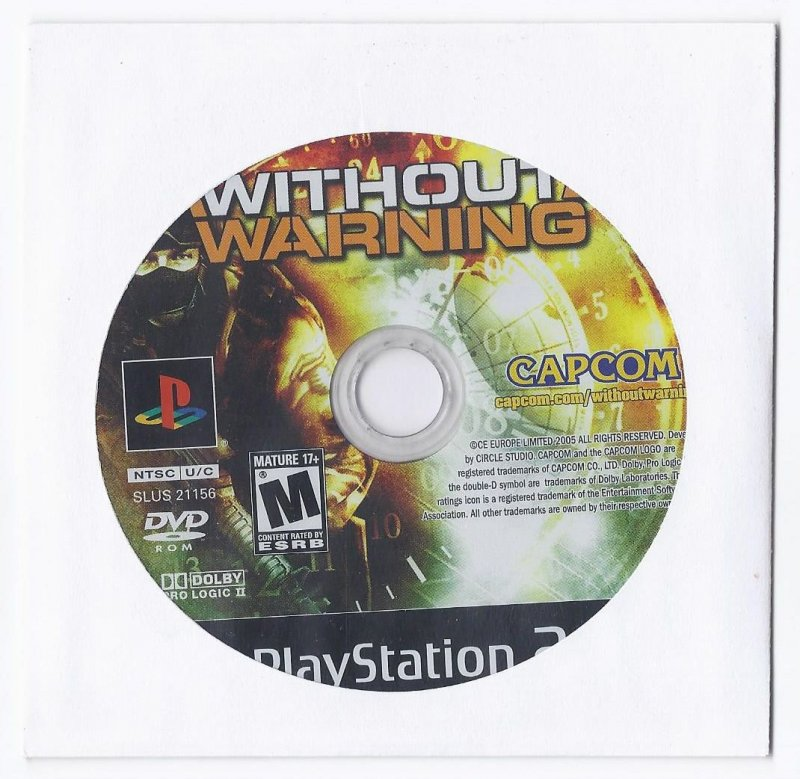 Image 0 of Without Warning PS2 Game PlayStation 2