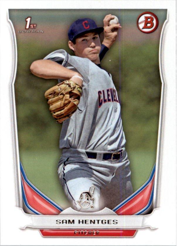 Image 0 of 2014 Bowman Draft #DP117 Sam Hentges Card
