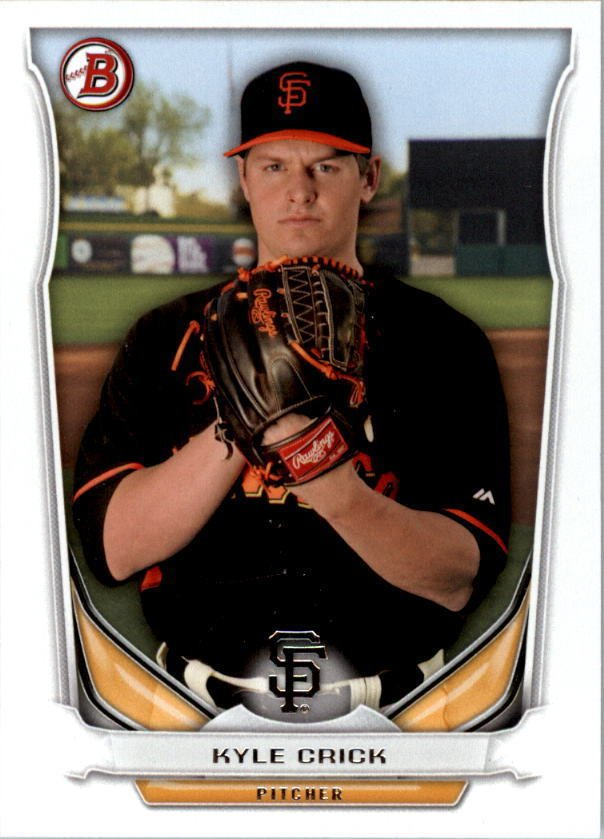 Image 0 of 2014 Bowman Draft Top Prospects #TP63 Kyle Crick Card