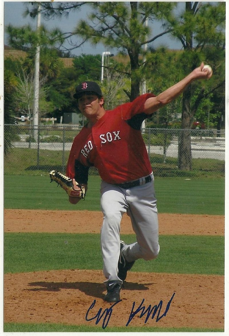Image 0 of cody Kulkak Signed Autographed 4x6 Glossy Photo Red Sox