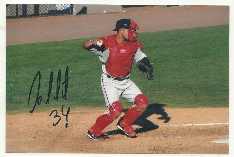 Image 0 of Josmil Pinto Signed Autographed 4x6 Glossy Photo Twins