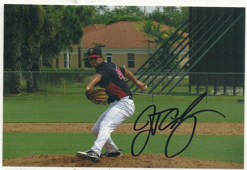 Image 0 of JT Chargois Signed Autographed 4x6 Glossy Photo Twins