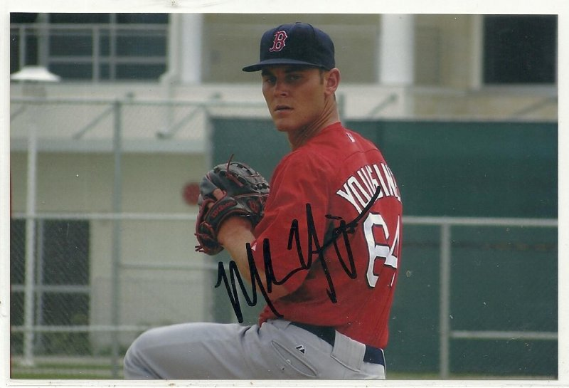 Image 0 of Madison Younginer Signed Autographed 4x6 Glossy Photo Red Sox