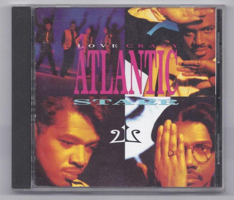 Image 0 of atlantic Star Love Crazy Music CD