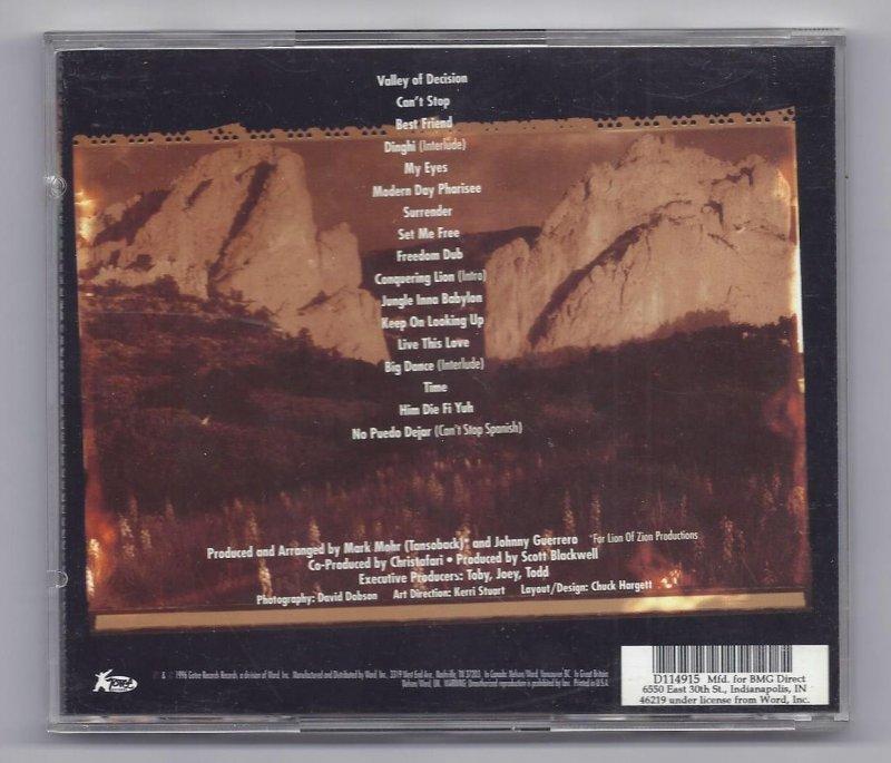 Image 1 of christafari Valley Of Decision Music CD