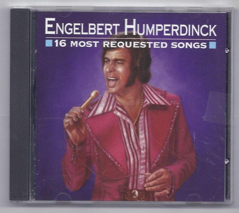 Image 0 of Engelbert Humperdinck 16 most requested songs Music CD