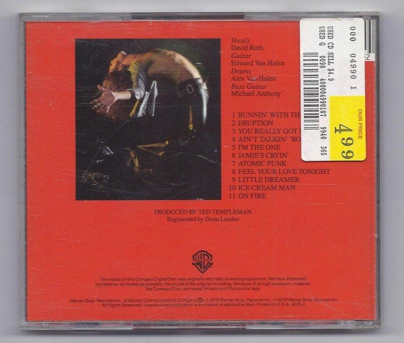 Image 1 of Van Halen Music CD