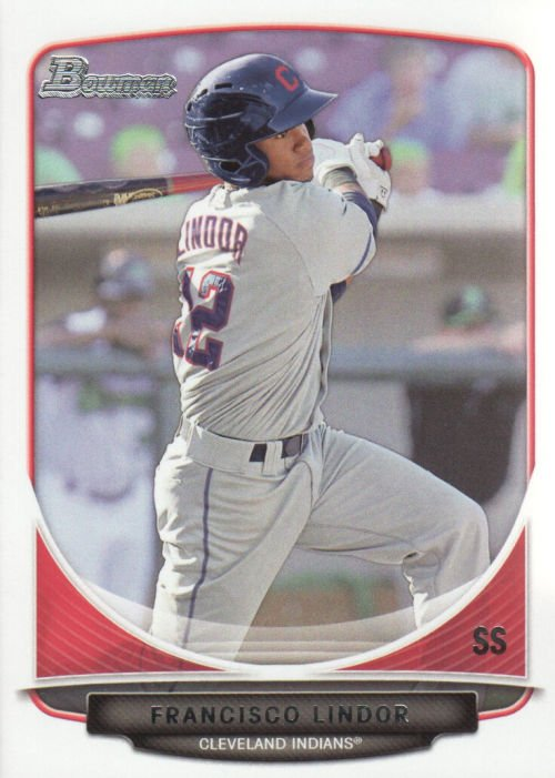 Image 0 of 2013 Bowman Draft Top Prospects #TP17 Francisco Lindor Card