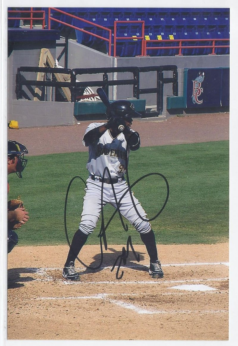 Image 0 of Carlos Paulino Signed Autographed 4x6 Glossy Photo Pirates