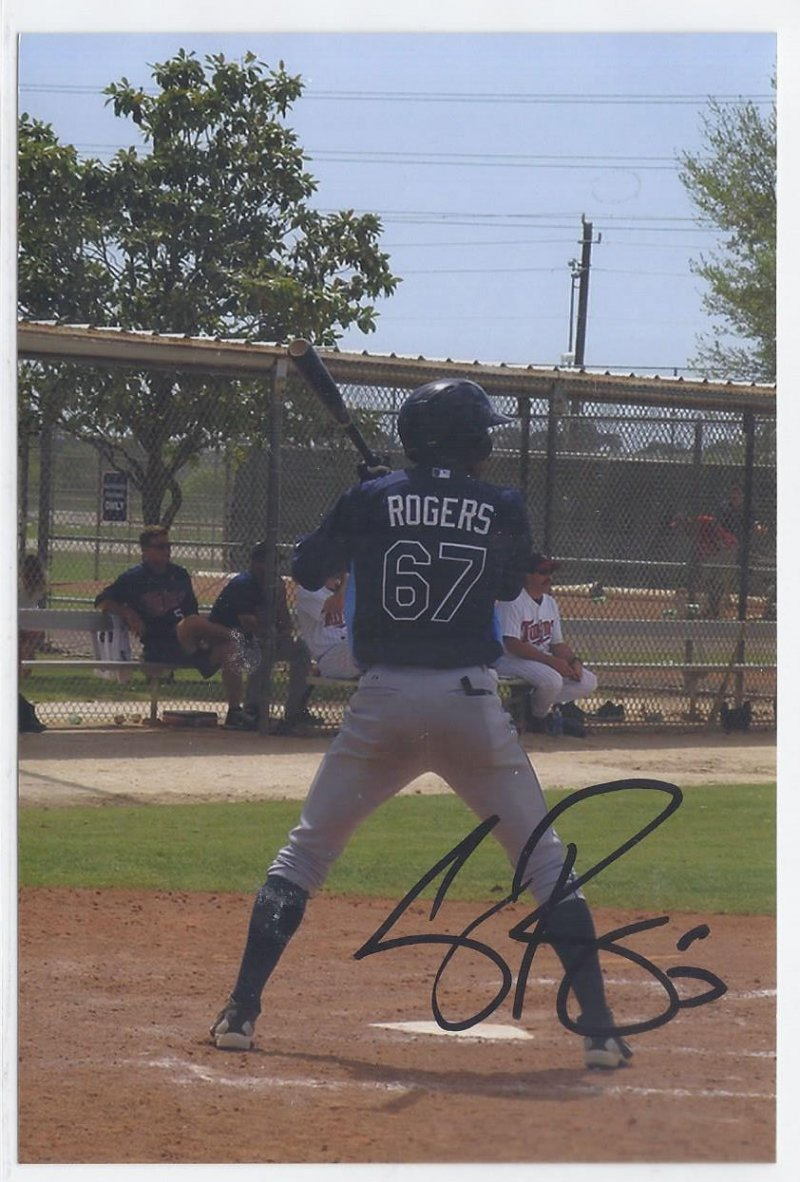 Image 0 of cody rogers Signed Autographed 4x6 Glossy Photo Rays