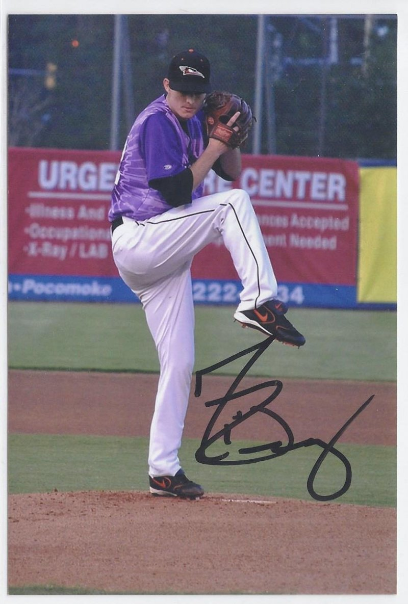 Image 0 of tim berry Signed Autographed 4x6 Glossy Photo Orioles