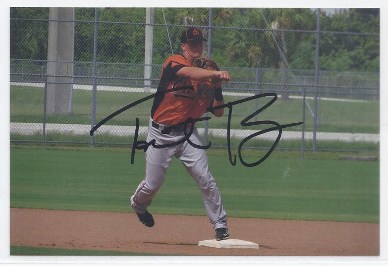 Image 0 of Torsten Boss Signed Autographed 4x6 Glossy Photo Orioles