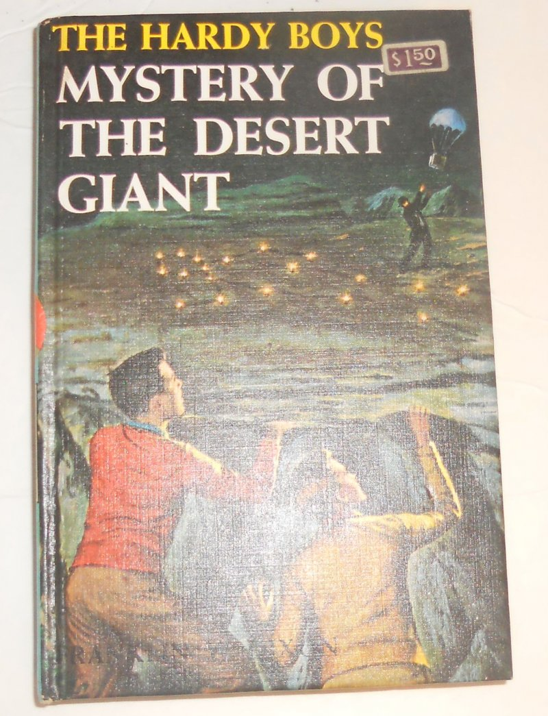 Image 0 of Hardy Boys #40 Mystery of the Desert Giant By Franklin Dixon 1961