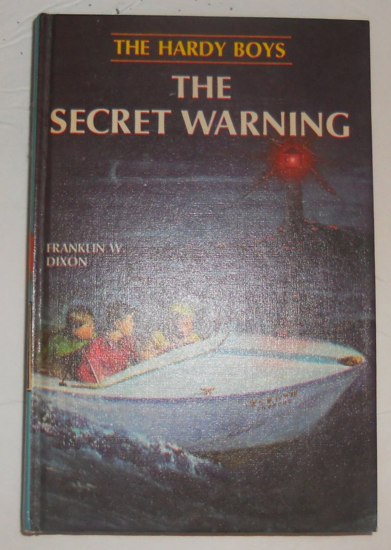 Image 0 of Hardy Boys #17 The Secret Warning By Franklin Dixon 1966