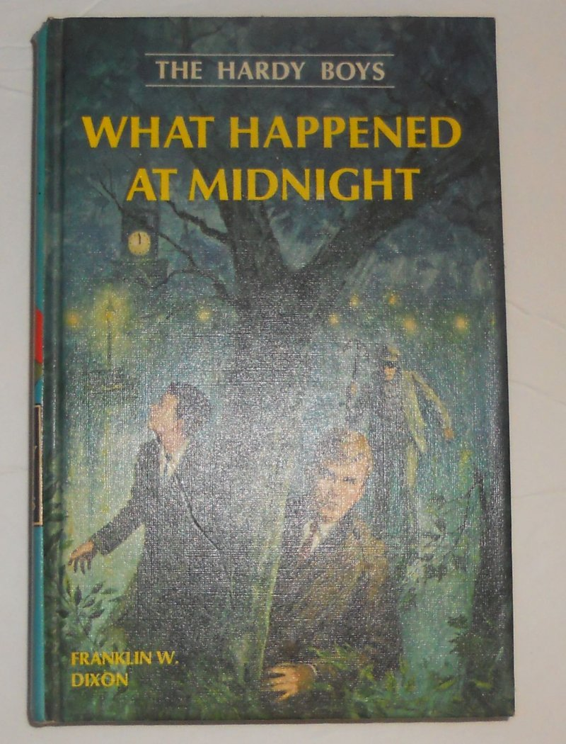 Image 0 of Hardy Boys #10 What Happen At Midnight By Franklin Dixon 1967