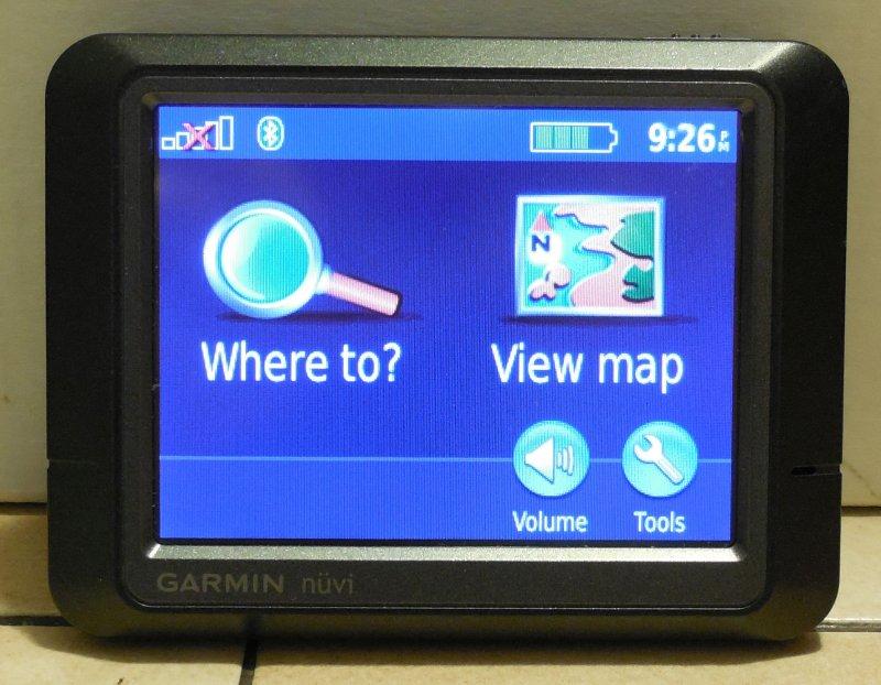 Image 0 of Garmin Nuvi 265 GPS Navigation Device Bluetooth