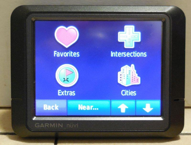 Image 2 of Garmin Nuvi 265 GPS Navigation Device Bluetooth