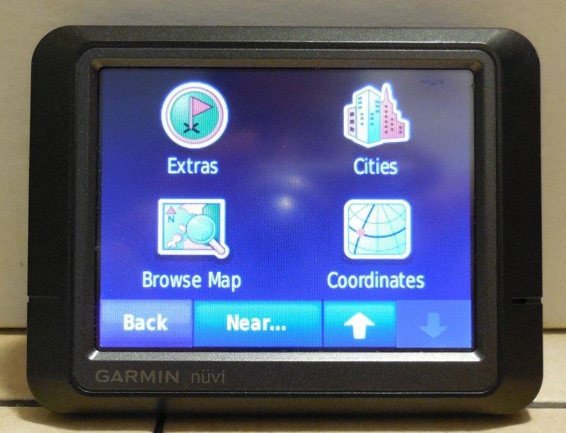 Image 3 of Garmin Nuvi 265 GPS Navigation Device Bluetooth