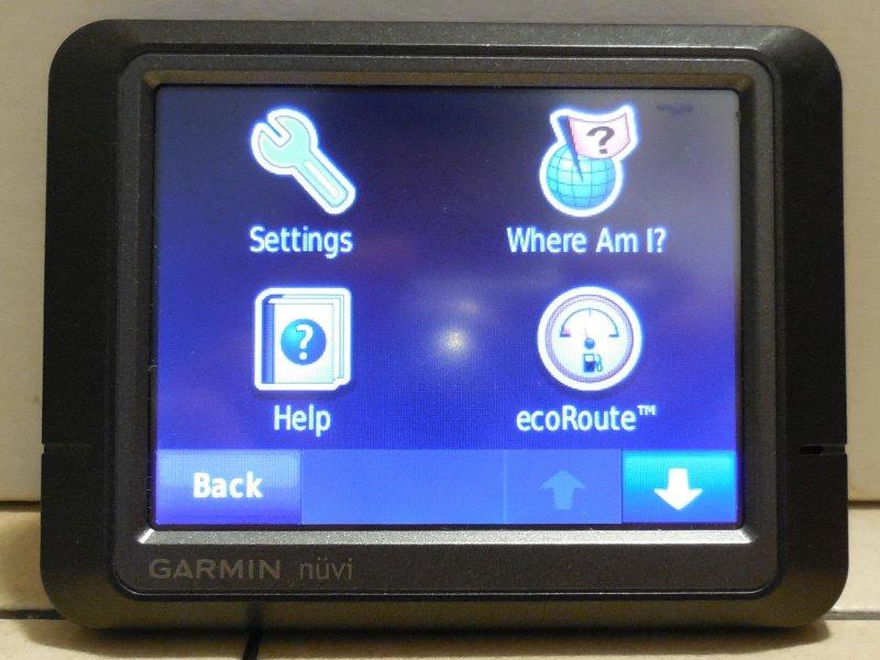 Image 4 of Garmin Nuvi 265 GPS Navigation Device Bluetooth