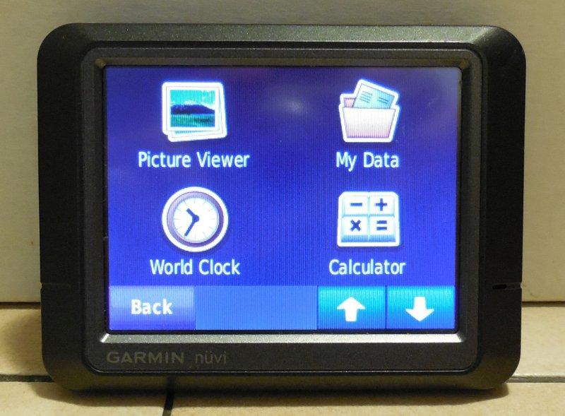 Image 5 of Garmin Nuvi 265 GPS Navigation Device Bluetooth