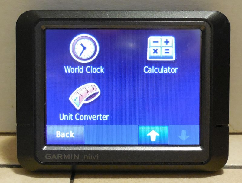 Image 6 of Garmin Nuvi 265 GPS Navigation Device Bluetooth