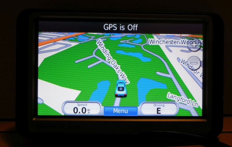 Image 4 of Garmin Nuvi 260W GPS Navigation Device Touchscreen Spoken Street Names