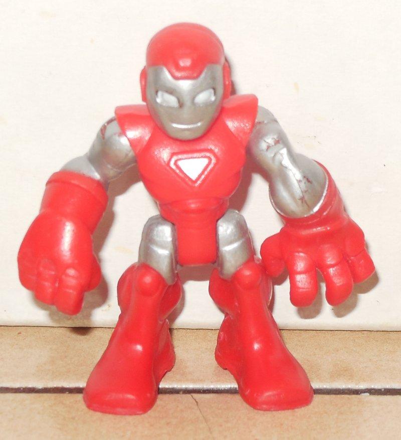 Image 0 of Marvel Comics Super Hero Squad Mini Action Figure Iron Man 2008 Hasbro