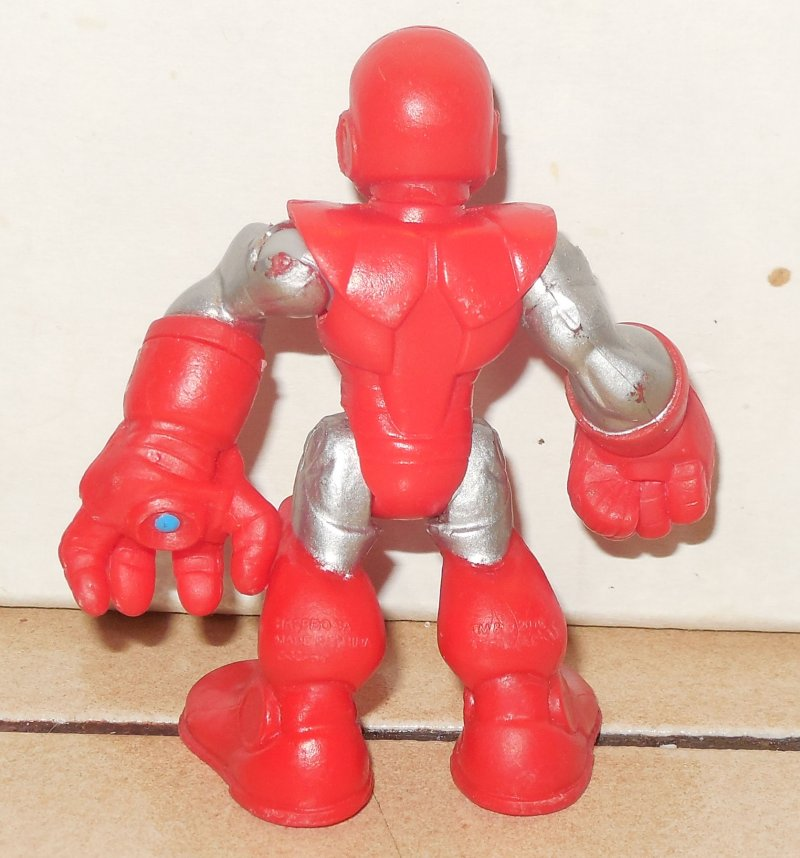 Image 1 of Marvel Comics Super Hero Squad Mini Action Figure Iron Man 2008 Hasbro