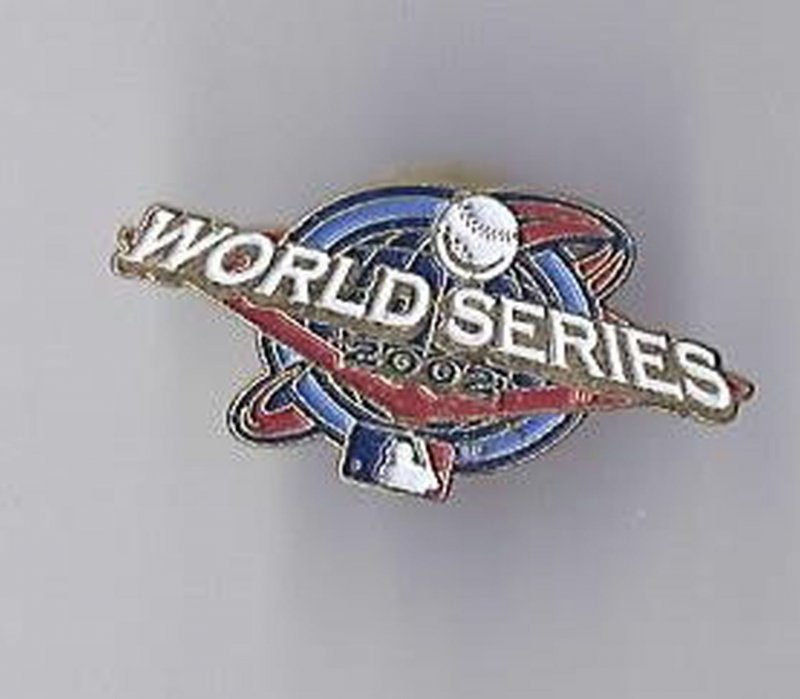 Image 0 of 2002 World Series Pin Giants Angels