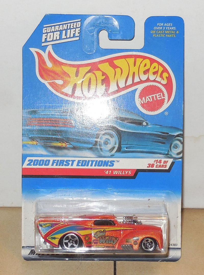 Image 0 of 2001 HOT WHEELS First Editions #18 of 36 Outsider NIP Orange HW