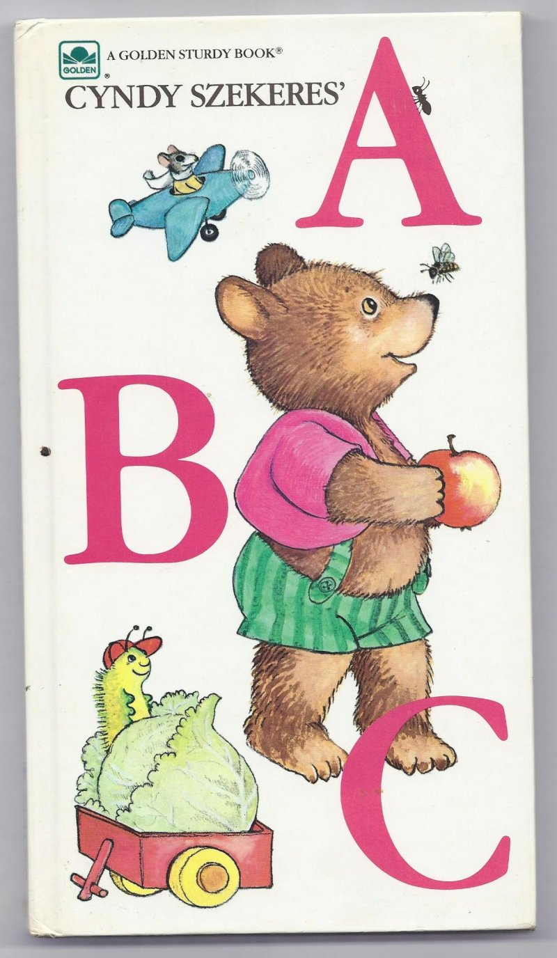 Image 0 of 1983 Cyndy Szekeres� ABC A Golden Sturdy Book