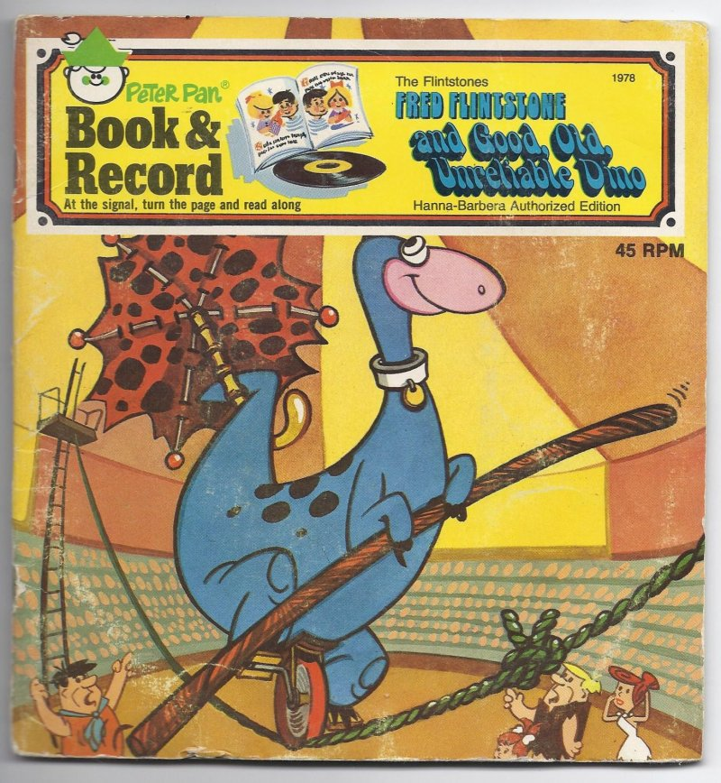 Image 0 of PETER PAN BOOK & RECORD THE FLINSTONES Fred flintstone & good old unreliable Din