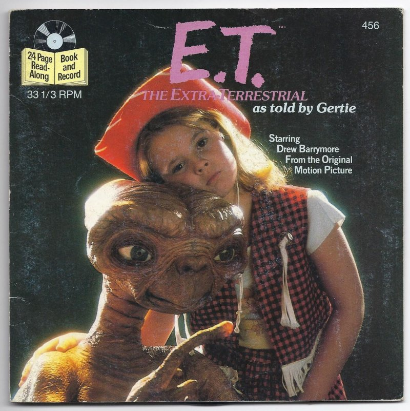 Image 0 of Book & Record ET The Extra Terrestrial as told by Gertie 33 1/3 RPM