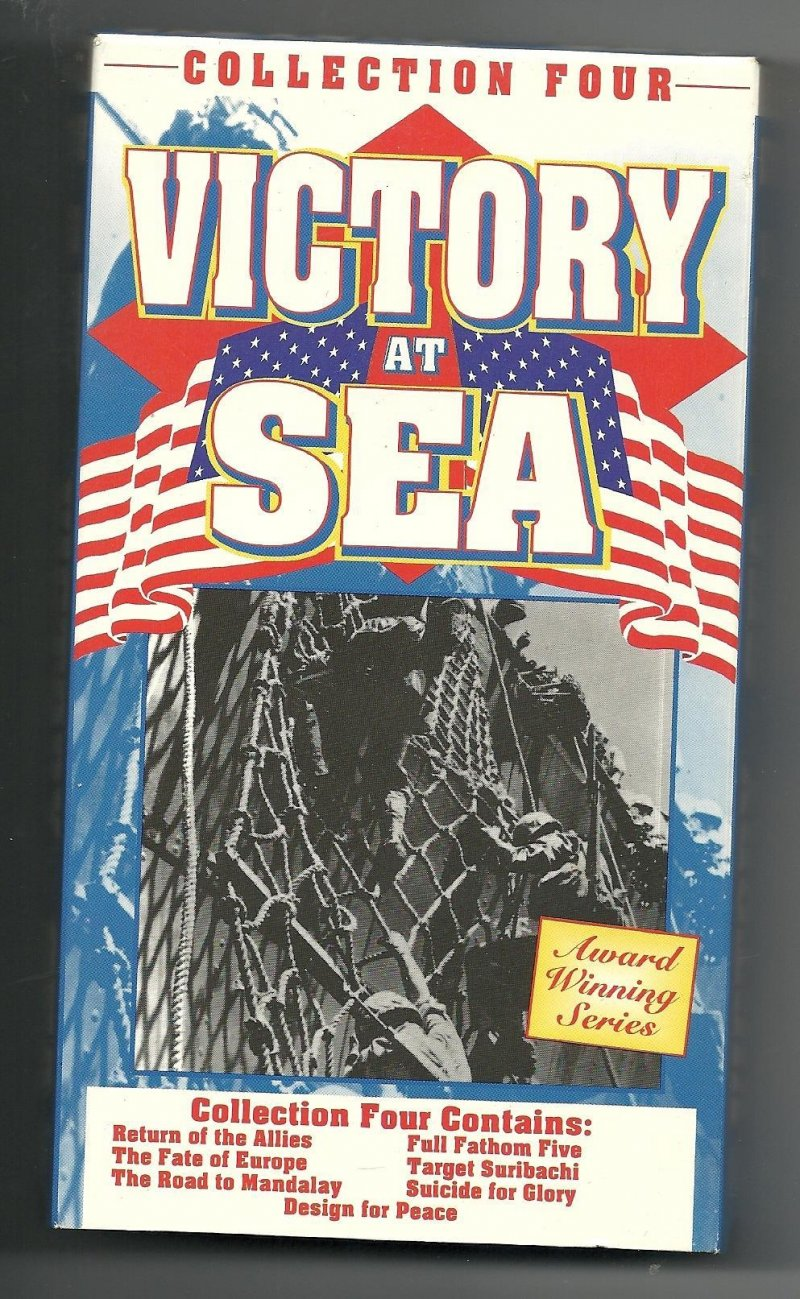 Image 3 of Victory At Sea Collection 1 2 3 & 4 VHS Video Tapes