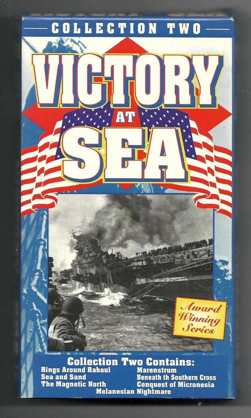 Image 1 of Victory At Sea Collection 1 2 3 & 4 VHS Video Tapes