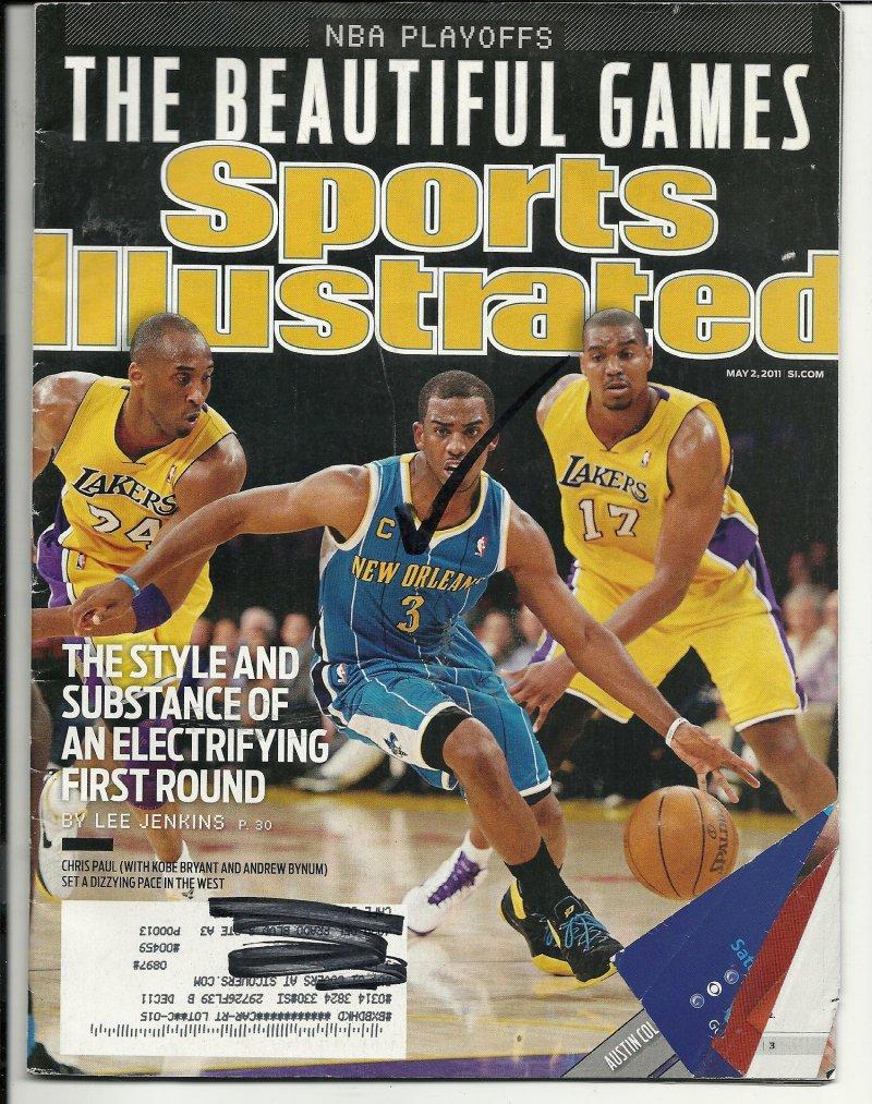 Image 0 of 2011 Sports Illustrated Magazine May 2nd Chris Paul Kobe Bryant Andrew Bynum