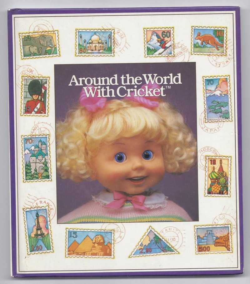 Image 0 of Around The World with cricket Book By Playmates