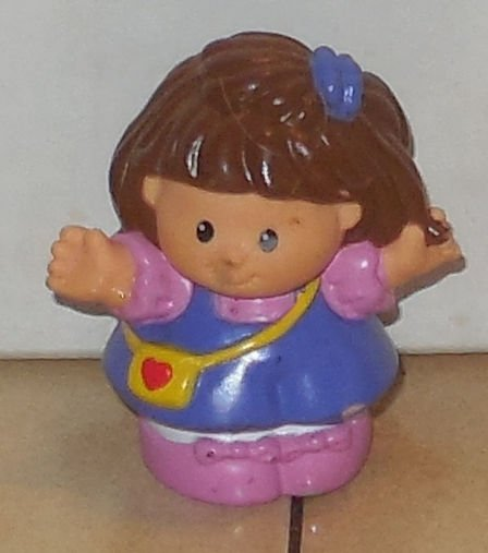 Image 0 of Fisher-Price Current Little People Girl Figure