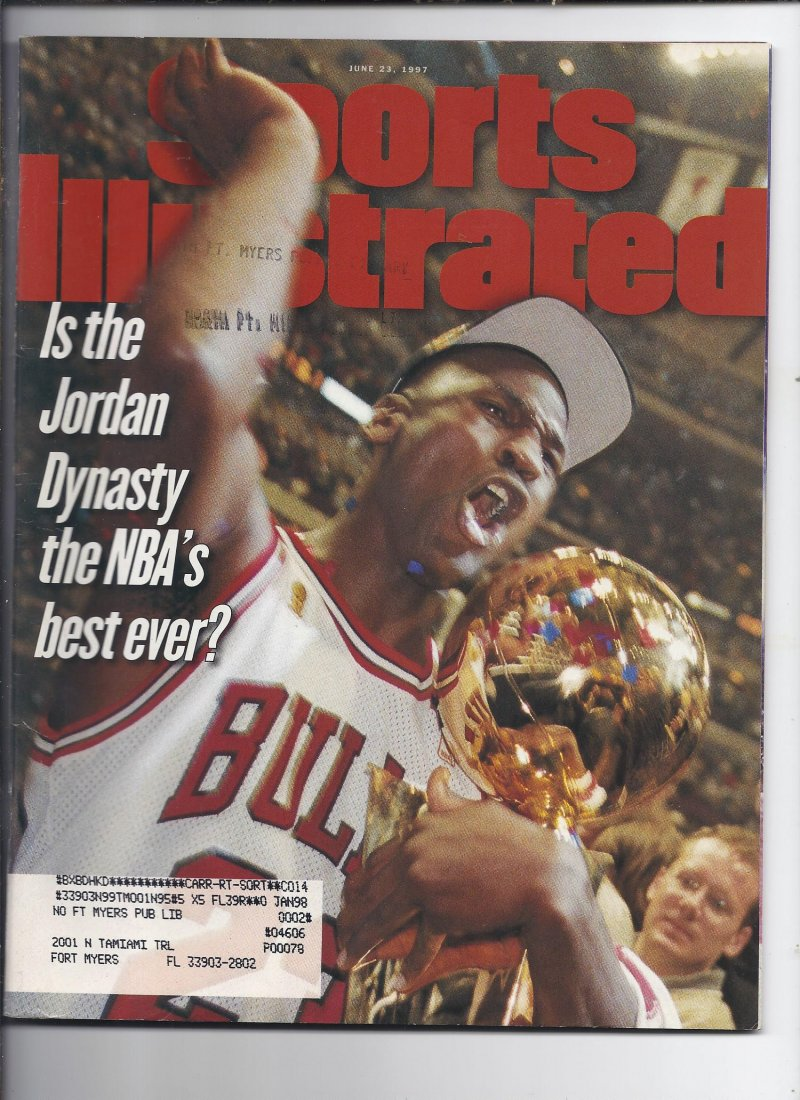 Image 0 of 1997 Sports Illustrated Magazine June 21st Bulls Champions Jordan
