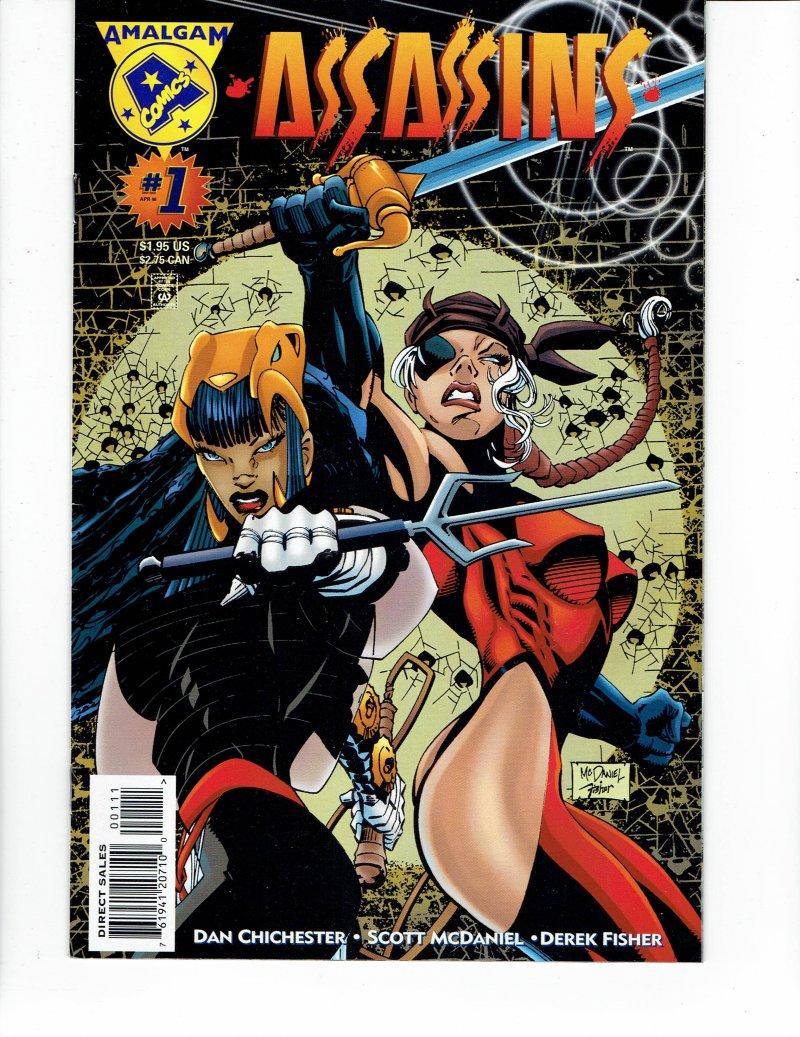 Image 0 of Assassins #1 April 1996 Amalgam Comics