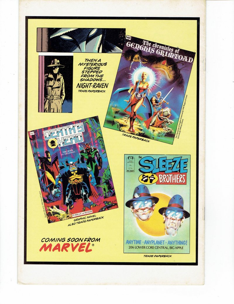 Image 1 of The Knights of Pendragon #7 Revelations Jan 1991 Marvel Comics UK