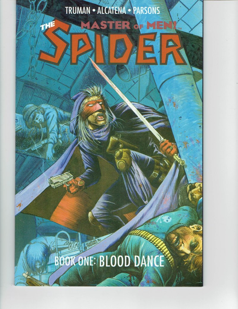 Image 0 of The Spider Master of Men Book One: Blood Dance by Eclipse Books